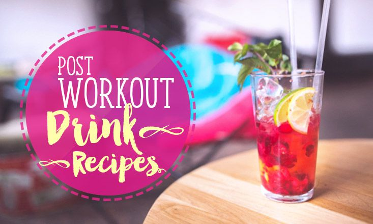 3 Yummy Post-Workout Drink Recipes
