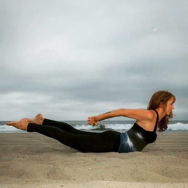3 yoga poses for the air element - locust pose