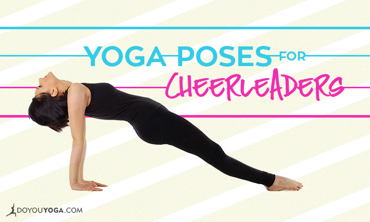 yoga poses for cheerleaders