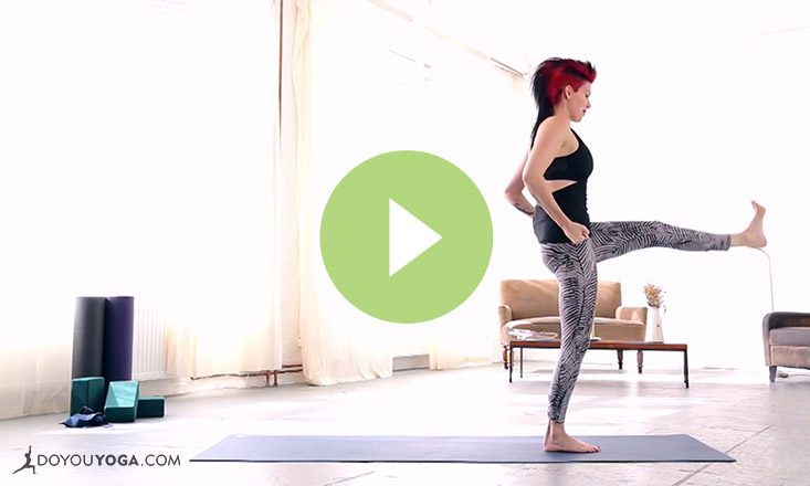 Cardio Yoga Sequence with Sadie Nardini (VIDEO)