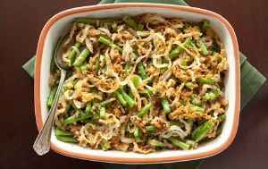 The 10 Best Healthy Thanksgiving Recipes - green bean casserole