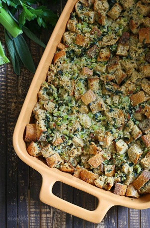 The 10 Best Healthy Thanksgiving Recipes - stuffing