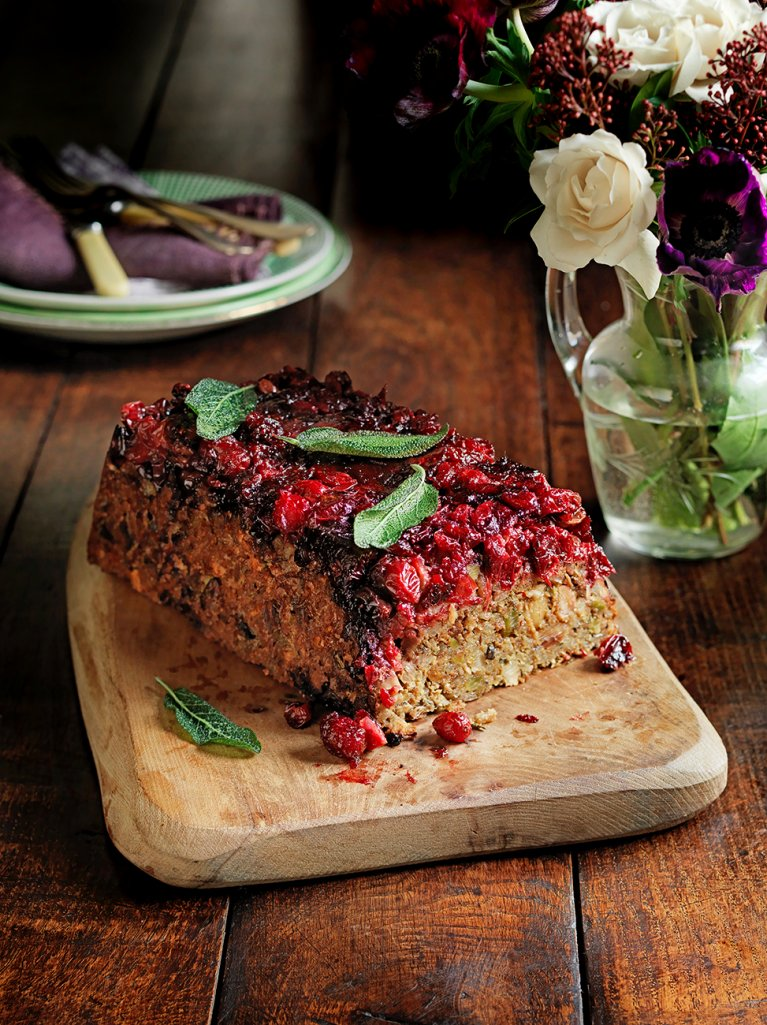 the 10 best healthy thanksgiving recipes - pistachio nut loaf