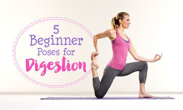 5 Beginner's Yoga Poses for Digestion
