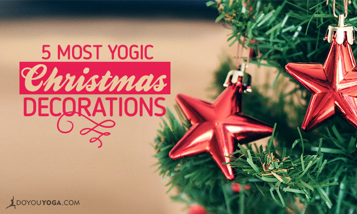 yogic christmas decorations