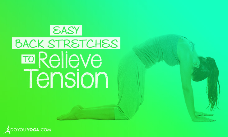 back stretches to relieve tension