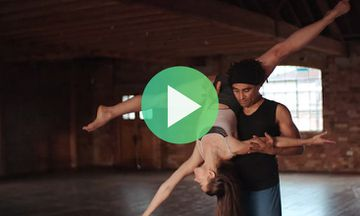 Watch This Beautiful AcroYoga Dance Featuring a Real-Life Couple (VIDEO)