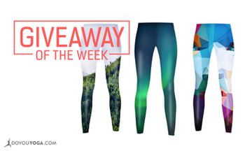 Giveaway - 3 x One Pair of DOYOUYOGA Leggings of Your Choice