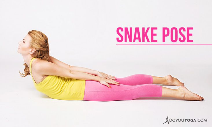 How to do Snake Pose | DOYOUYOGA