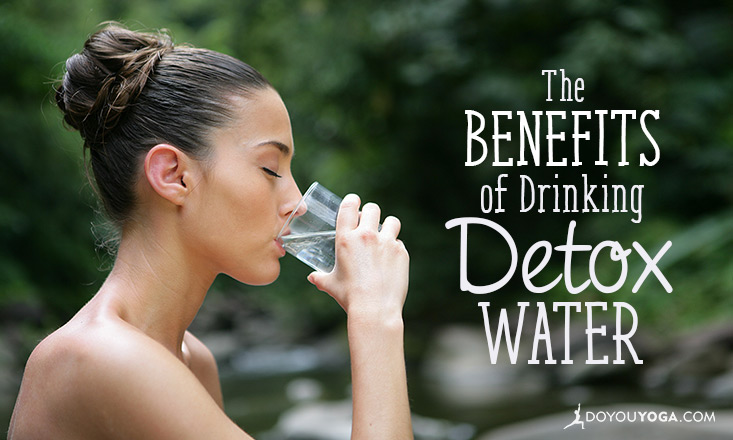benefits of drinking detox water