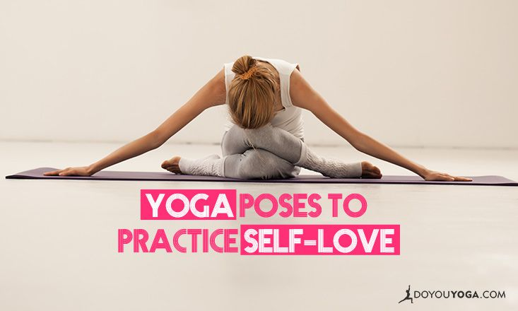 3 Yoga Poses to Practice Self-Love This Valentine's Day