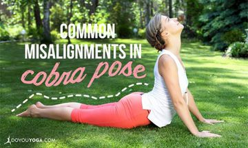 Common Misalignments in Cobra Pose (and How to Fix Them)