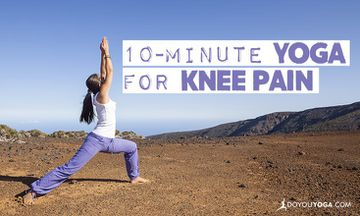 A 10-Minute Yoga Sequence To Help Soothe Knee Pain