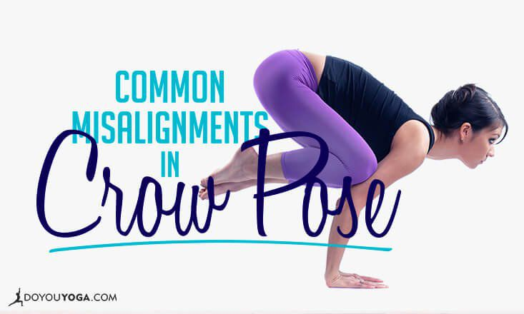 Common Misalignments in Crow Pose (and How to Fix Them)