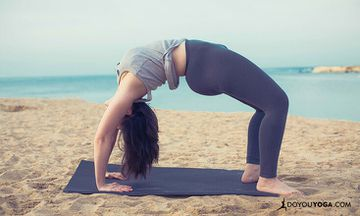 Building Up to Wheel Pose or Chakrasana