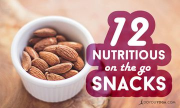 12 Nutritious Snacks For When You're On The Go