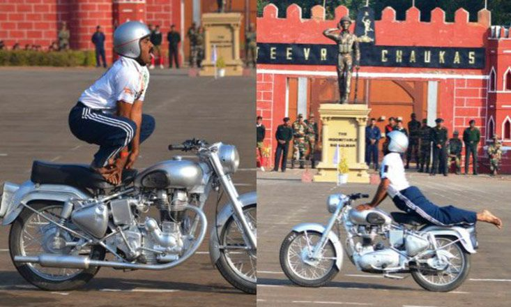 Indian Yogi Holds Guinness World Record for Motorcycle Yoga
