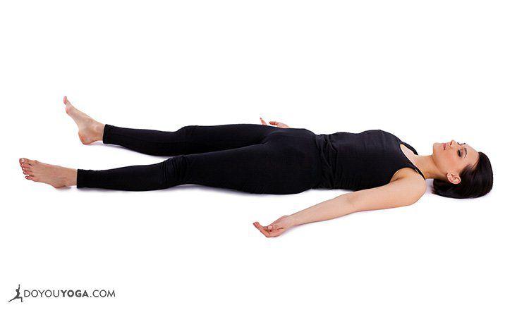 Image result for Corpse Pose (Savasana