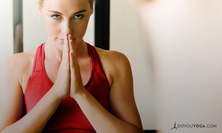 5 Yogic Exercises to Ease Eye Strain