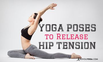 6 Yoga Poses to Release Tension in Your Hips After a Stressful Day