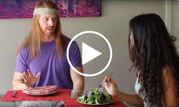 This Hilarious Clip Shows a World Where Meat-Eaters Act Like Vegans