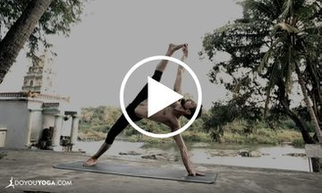 The Flow of Breath: A Stunning and Serene Ashtanga Yoga Demo (VIDEO)