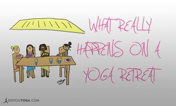 What REALLY Happens on a Yoga Retreat (ILLUSTRATED)