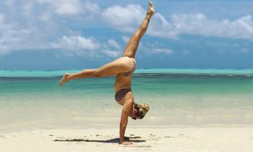 """Yoga Girl"" Rachel Brathen is Pregnant and Still Handstanding!"
