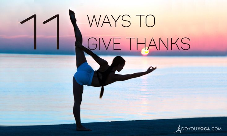 11 Ways to Give Thanks Every Day of the Year
