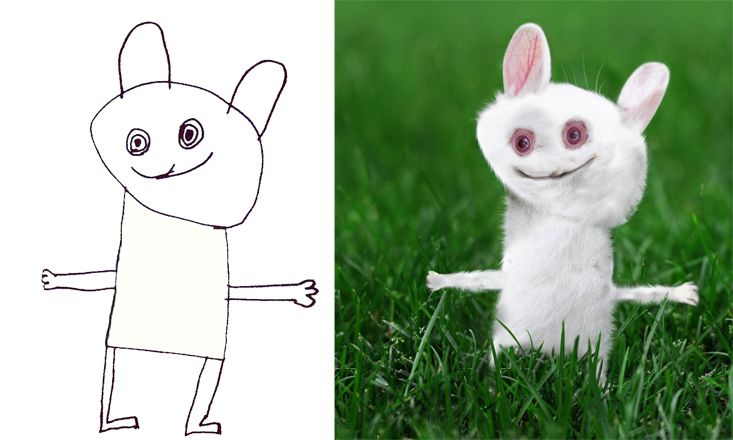 Look How This Dad Brings His Son's Creative Drawings to Life (PHOTOS)