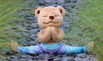 The Adorable Meddy Teddy Can Teach Kids Yoga and Meditation
