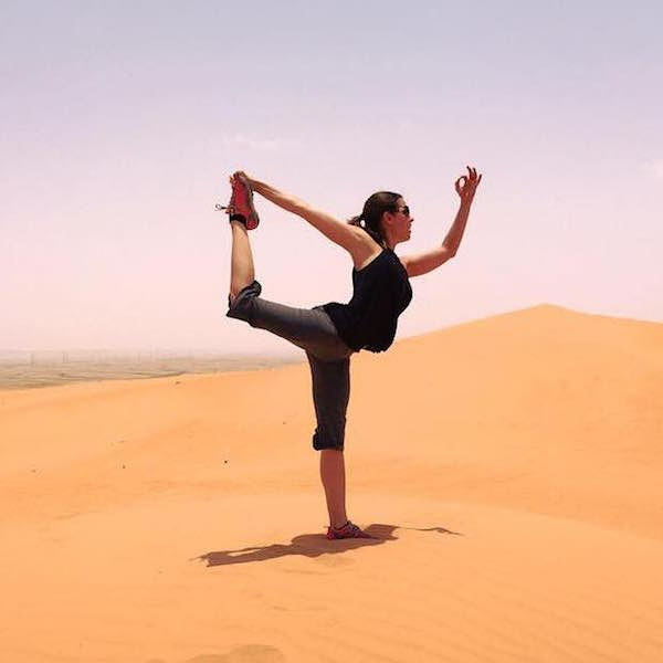 YATW - Chantal Beetz in Saudi Arabia