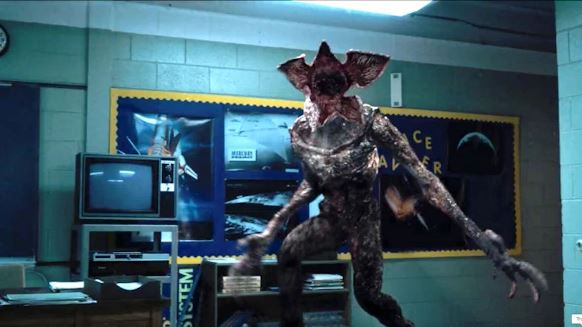 9. Hobby demogorgon - stranger things yoga