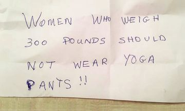 Read This Woman's Response To Being Body-Shamed and Told Not to Wear Yoga Pants