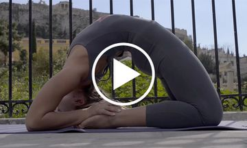 Sunday Morning in Athens: An Ashtanga Yoga Demo (VIDEO)