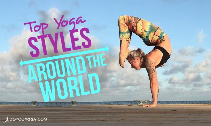 These Are The Most Popular Yoga Styles in the World