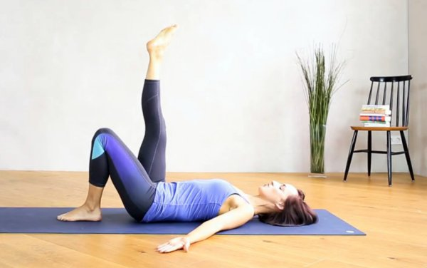 hamstring stretch pilates