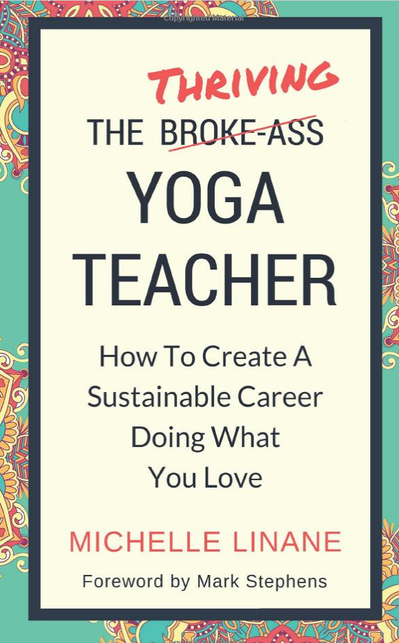 the thriving yoga teacher