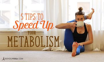 5 Simple Things You Can Do To Speed Up Your Metabolism