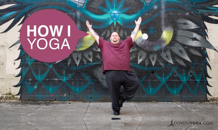 I'm Richard Widmark, And This Is How I Yoga