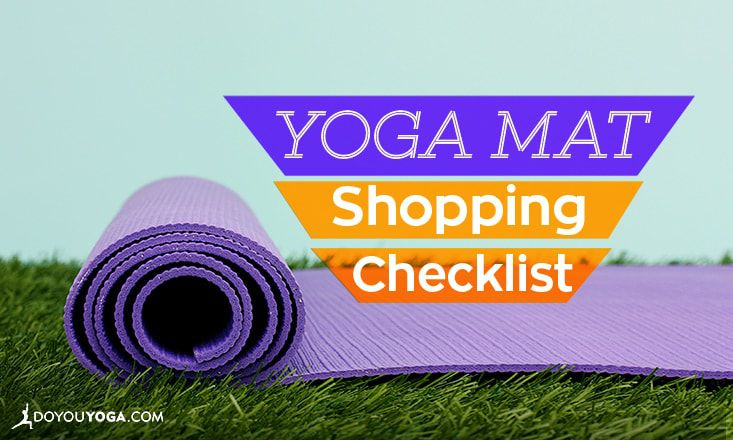 6-Point Checklist for Buying a Yoga Mat