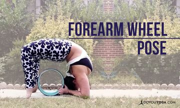 How To Do Forearm Wheel Pose