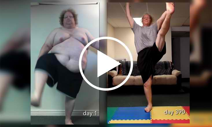 How Yoga Helped This Man Lose 300lbs and Take Back His Life