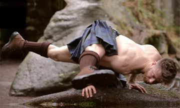 The Beloved Kilted Yoga Teacher Received Homophobic Death Threats